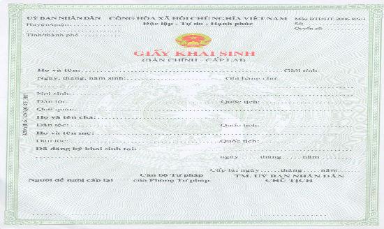 Có được quyền thay đổi tên trong giấy khai sinh không?