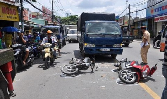 Hỏi đáp trách nhiệm bồi thường thiệt hại khi va chạm giao thông