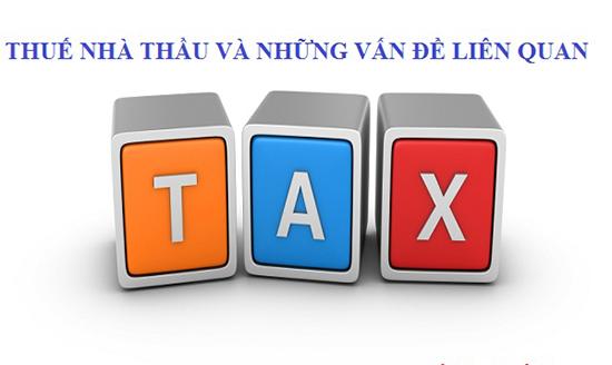 Tư vấn quy định về thuế nhà thầu trực tuyến miễn phí qua điện thoại