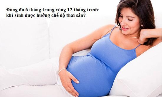 Điều kiện hưởng chế độ bảo hiểm thai sản mới nhất